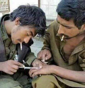 Drug Addicted People