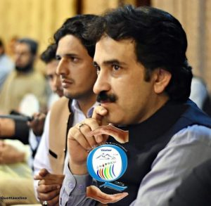 Zia Khan with His Team of Quetta Online