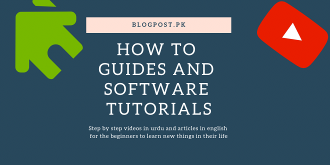 how to tutorials and videos