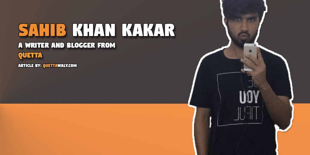 Sahib Khan Kakar