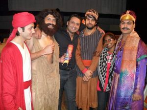 international theatre artist from balochistan