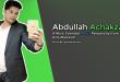 abdullah achakzai