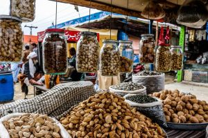 Dry fruits photography