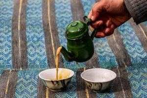 Tea Pouring balochistani style photography