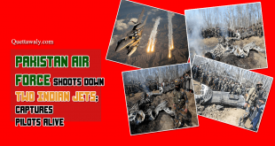 Pakistan Air Force Shoots Down Two Indian Jets; Captures Pilots Alive