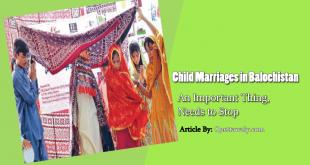child marriages in balochistan