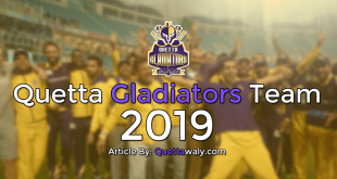 quetta gladiators team 2019
