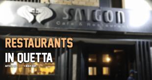 restaurants in quetta