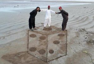 sand artists from pasni