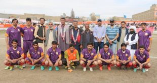 Balochistan Football Cup Semi Final to be Played Today