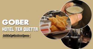 Gober Hotel Tea Quetta
