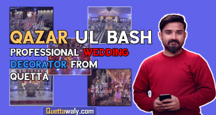 Qazar Ul Bash Professional Wedding Decorator from Quetta