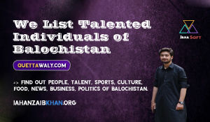 Jahanzaib Khan The Founder & President of Quettawaly.com