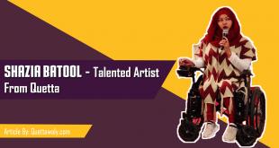 Shazia Batool - Talented Artist From Quetta