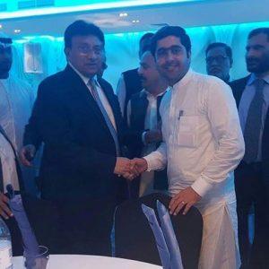 General Parvez Musharraf with Muhammad Ali