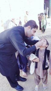 Muhammad Ali Giving Kids Polio