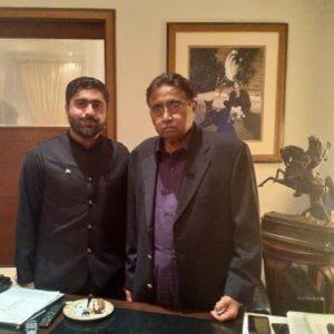 Muhammad Ali with Parvez Musharraf