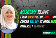 Masooma Rajput – Mastering in Cancer Biology at Heidelberg University Germany