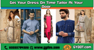 Gydot - Quetta's Online Tailoring Offers Cheapest, Fastest and Quality Stitching Services