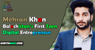 Mehran Khan – Balochistan's First Teen Digital Entrepreneur