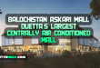 Balochistan Askari Mall Quetta's Largest Centrally Air Conditioned Mall