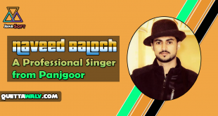 Naveed Baloch - A Professional Singer from Panjgoor