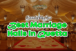 Best Marriage Halls In Quetta, Balochistan