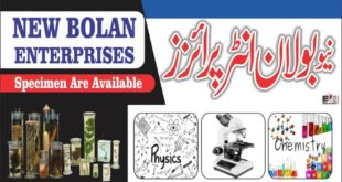 New Bolan Enterprises & Scientific Store Quetta