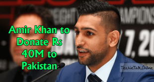 Amir Khan to Donate Rs 40M to Pakistan for COVID-19 Emergency Fund