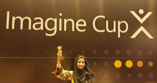Rida Faiz: Got Runner Up Trophy in Microsoft Imagine Cup Nationals Finals