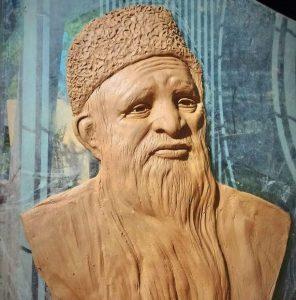 Abdul Sattar Edhi Sculpture