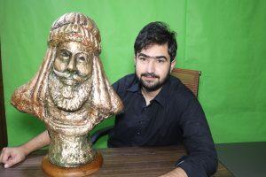 Khan Fateh Khan Sculpture and Jahanzaib Khan