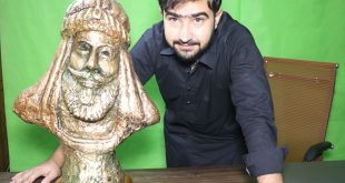 Sculpture: The Famous of All Bareachs Khan Fateh Khan Barech