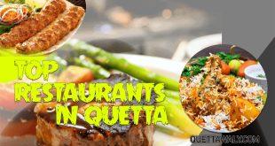 Top Restaurants in Quetta